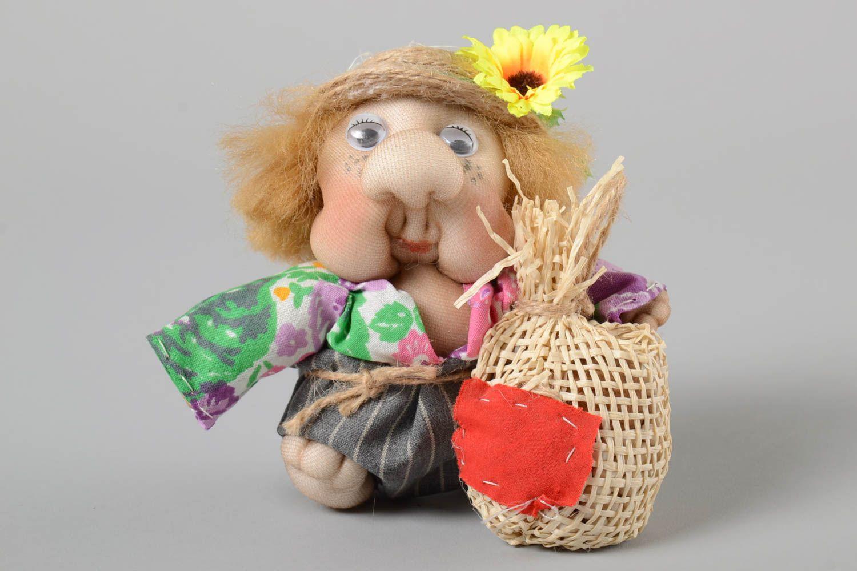 Stylish handmade soft toy interior decorating stuffed toy rag doll gift ideas photo 2