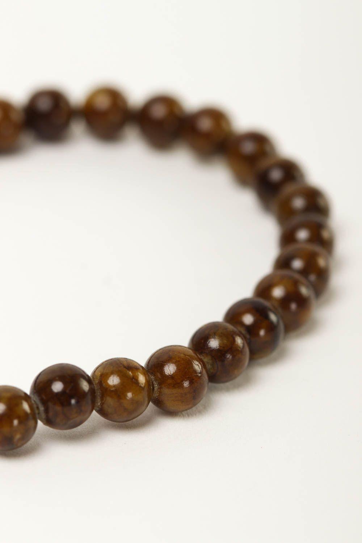 Unusual handmade beaded bracelet gemstone bracelets for women gifts for her photo 3