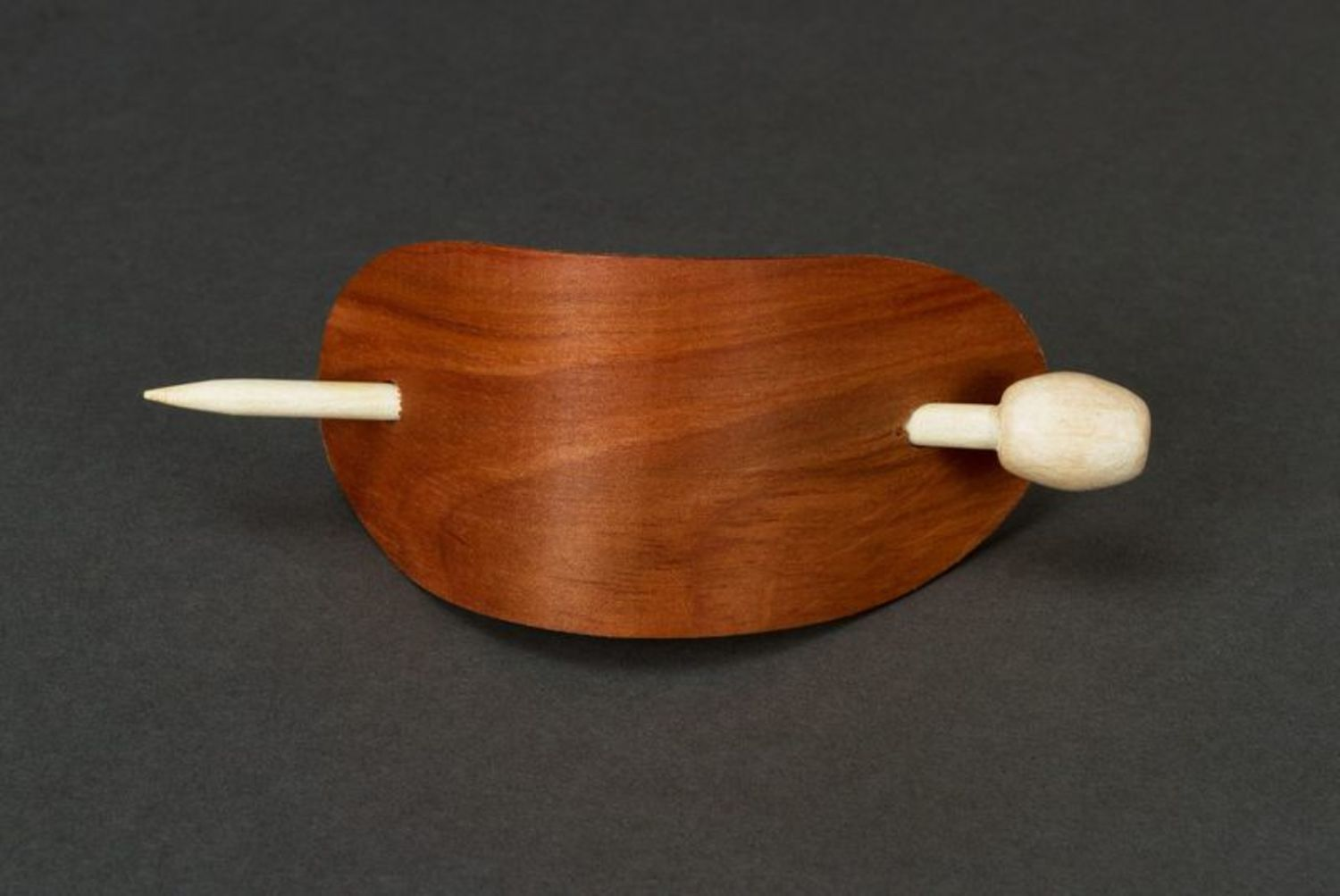 Wooden hairpin photo 1