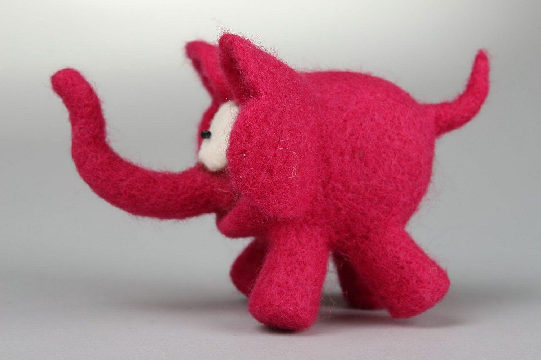 Soft toy Pink elephant photo 2
