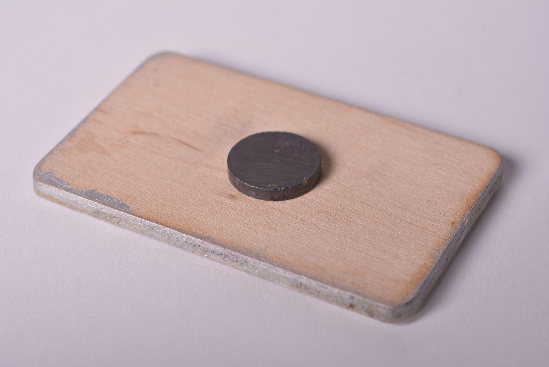 Wooden fridge magnet funny magnet unusual souvenir wooden products kitchen decor photo 3