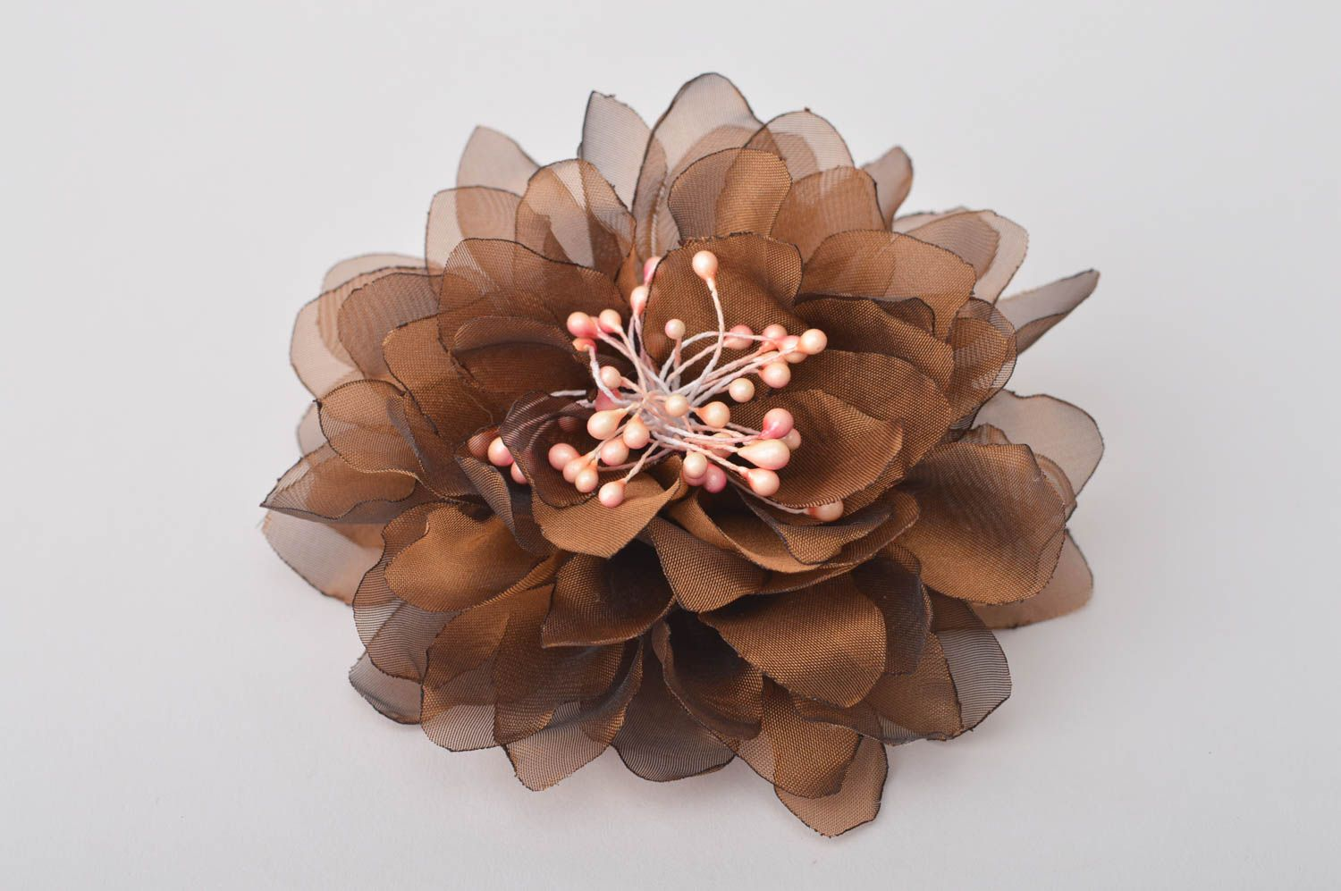 Handmade jewelry flower hair accessories flower brooch flower hair clip  photo 2