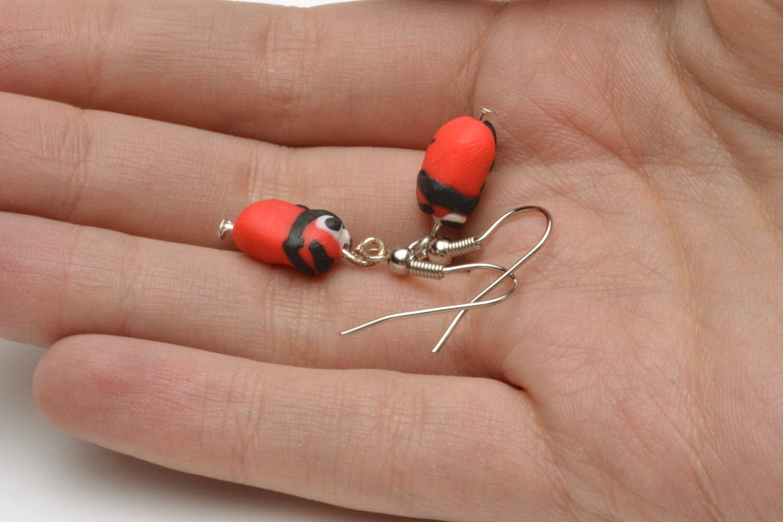 Polymer clay earrings photo 5