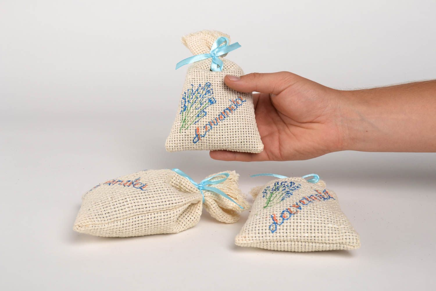 Sachet pillows handmade lavender sachets aroma therapy homemade gifts for friend photo 5