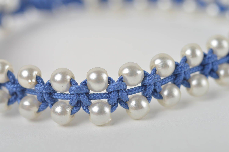 82f9bf37b0c4 Pulsera hecha a mano de cordones bisutería artesanal regalo para niñas
