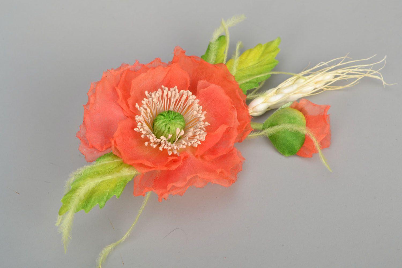 Gentle flower brooch photo 1