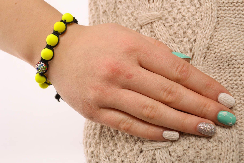 Unusual woven bracelet photo 5