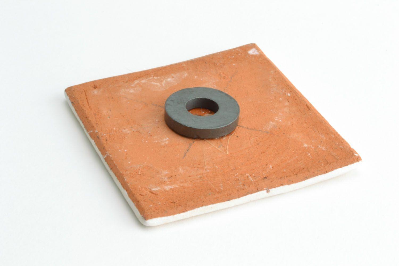 Clay fridge magnet photo 5