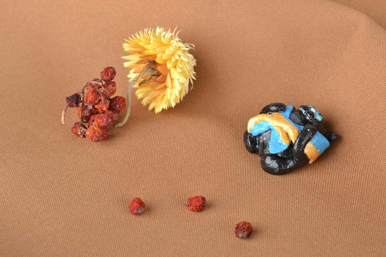 Polymer clay fridge magnet photo 5