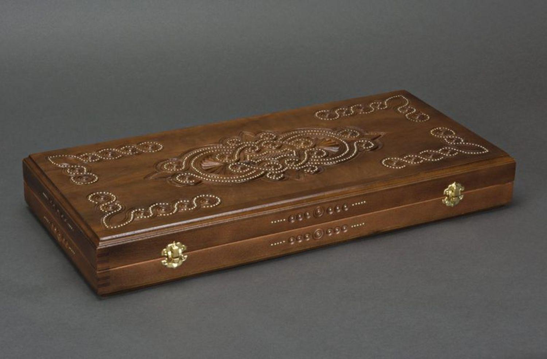 Wooden backgammon photo 5