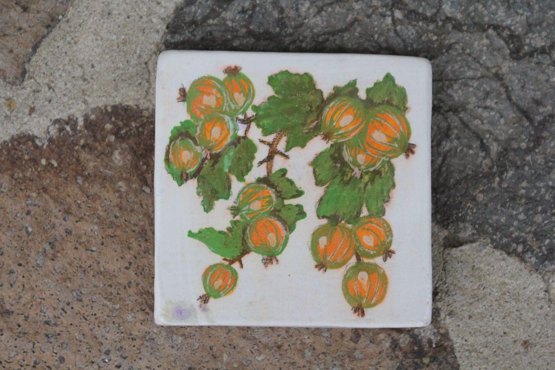 Ceramic magnet for fridge Goosebumps photo 1