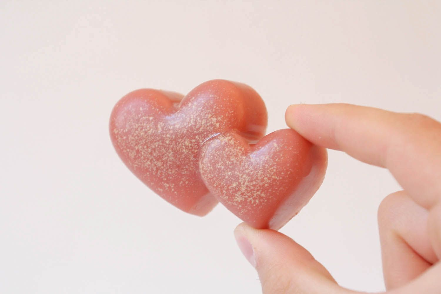 Natural soap with pink clay photo 4