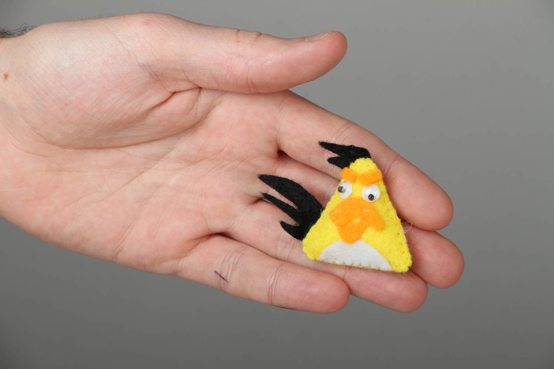 Fridge magnet Yellow Bird photo 4