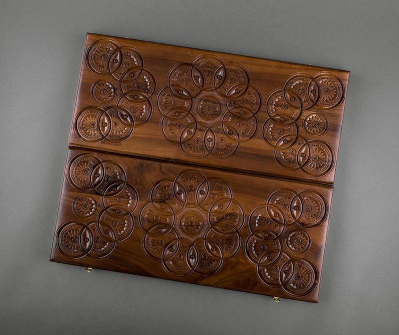 madeheart backgammon en bois. Black Bedroom Furniture Sets. Home Design Ideas