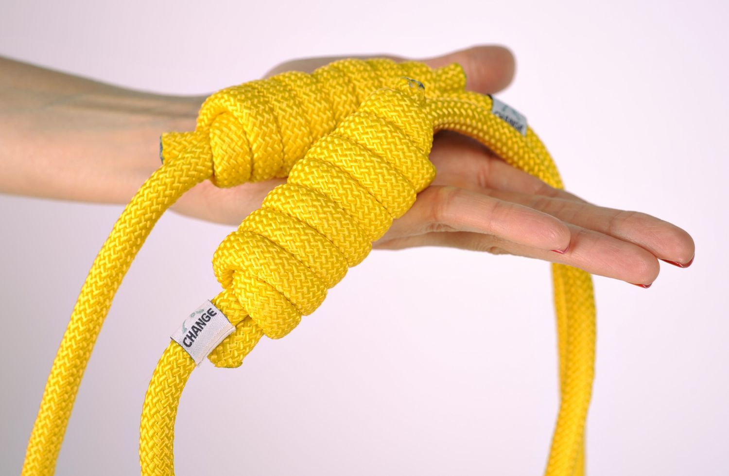 Rope with knot for yoga practice  photo 3