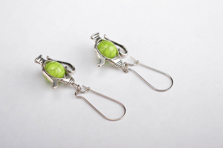 MADEHEART > Beautiful handmade plastic earrings dangle earrings ...