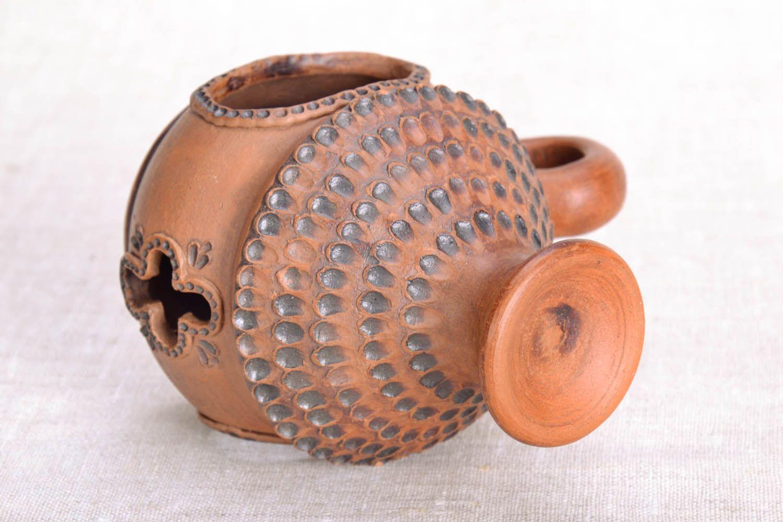 Ceramic handmade aroma lamp photo 3