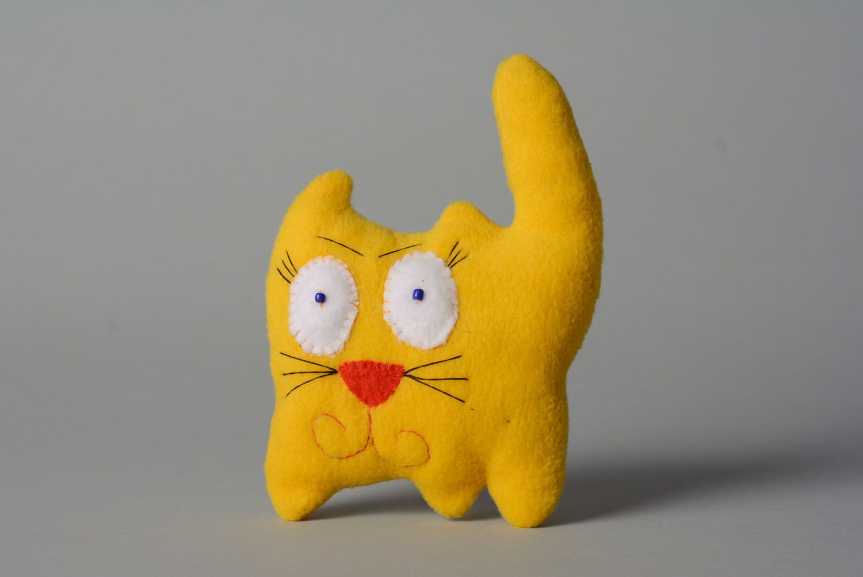 Soft toy Yellow Cat photo 1