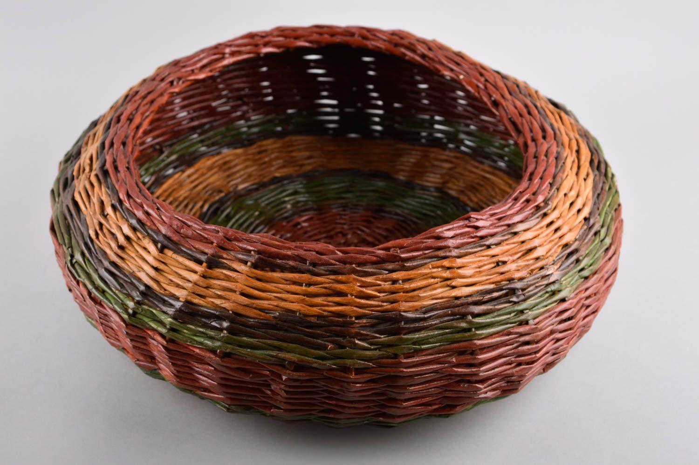 Wicker basket home decor handmade woven basket interior decor ideas home box photo 2