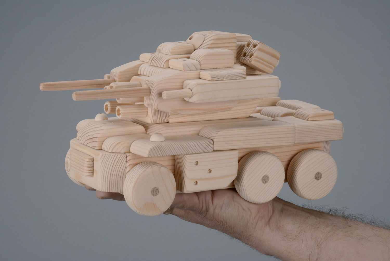 Танки из дерева своими руками 25