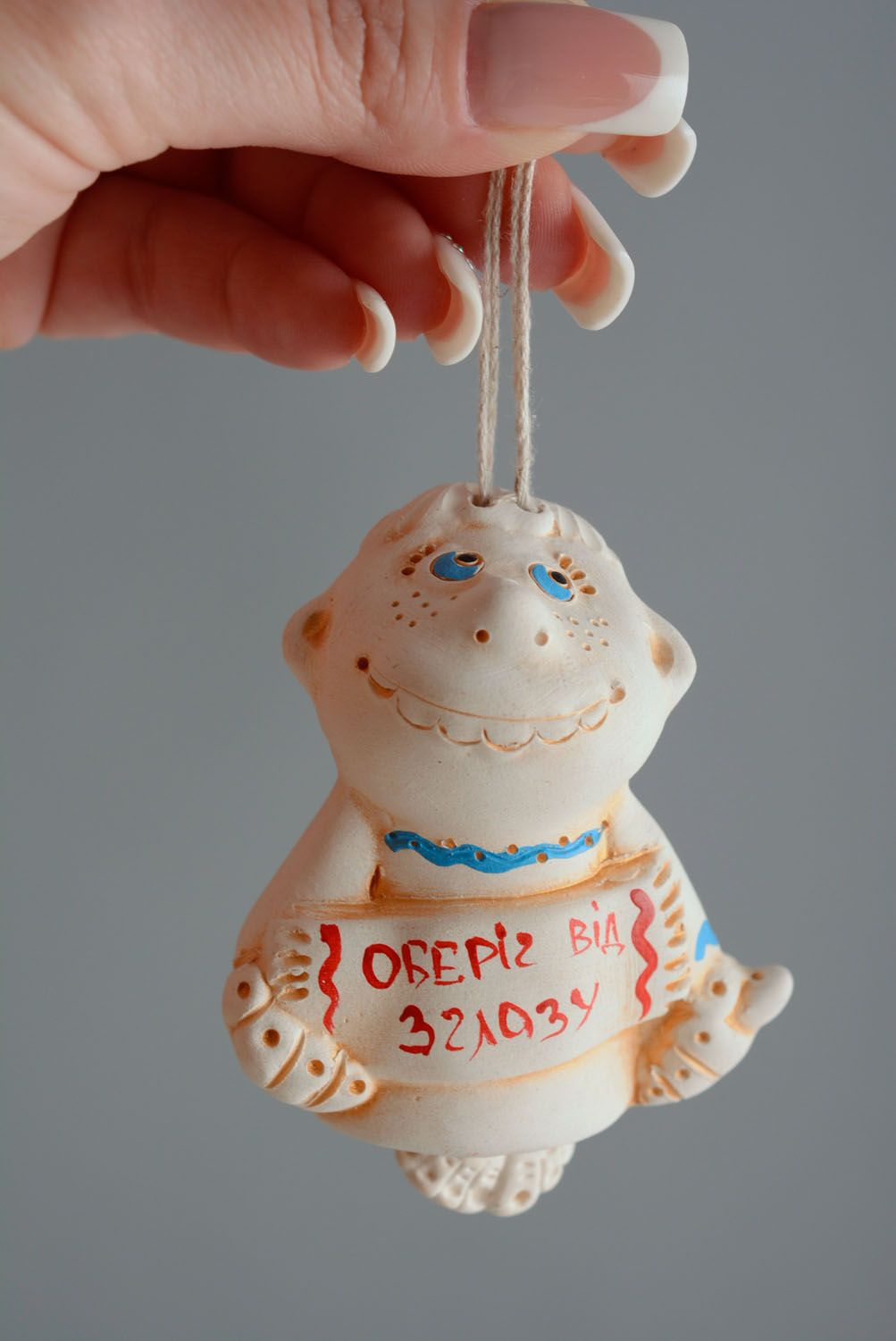 Clay charm bell photo 5