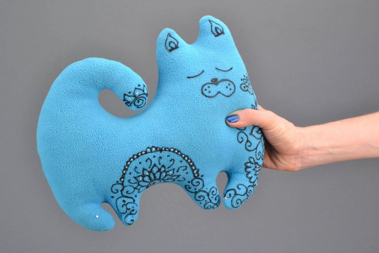 pillow toys Pillow pet Blue Cat - MADEheart.com