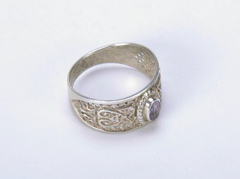 Handmade silver ring  photo 4