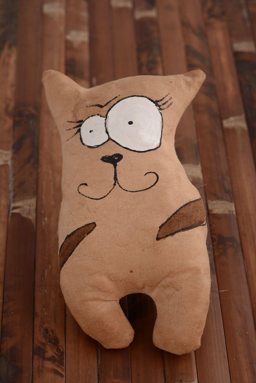 Soft toy with vanilla Cat photo 1