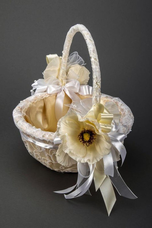 wedding accessories Tender wedding basket - MADEheart.com