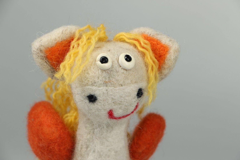 Pegasus made of wool photo 2
