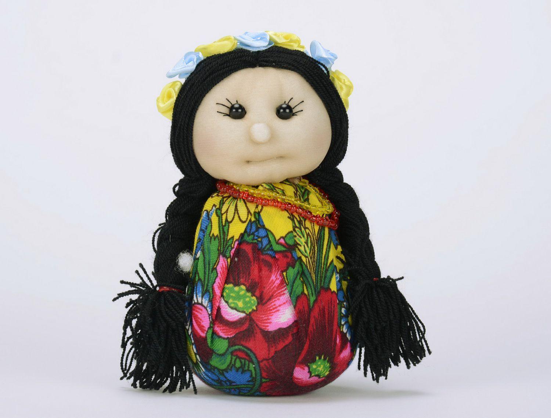 Soft sachet doll Ukrainian girl photo 2
