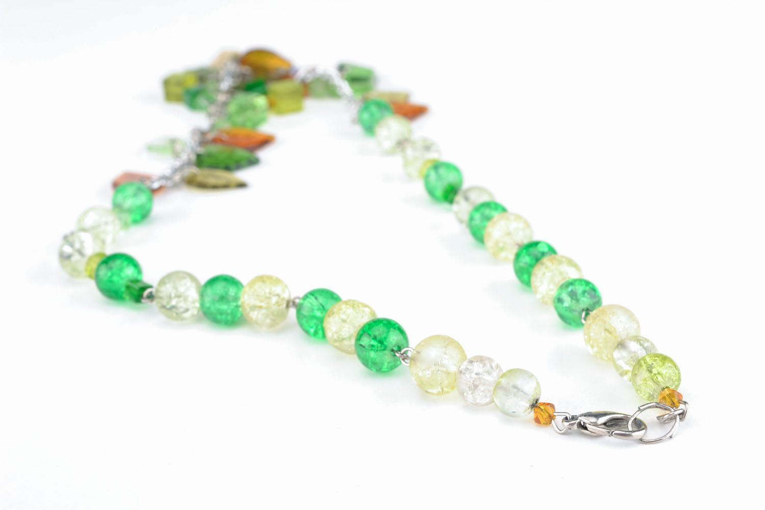 Beautiful necklace with charms photo 3