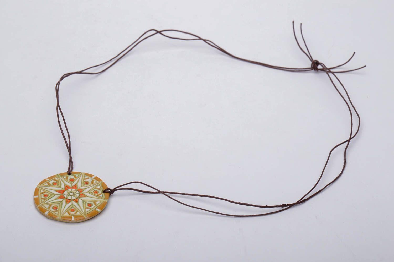 Clay neck pendant photo 3
