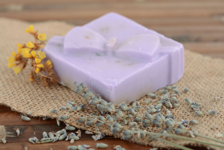 Лавандовое мыло ручной работы рецепт - Подарок на День 63