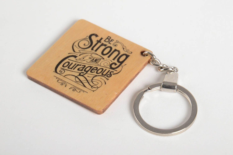 Porte clef design à madeheart porte clé en bois porte clef fait main