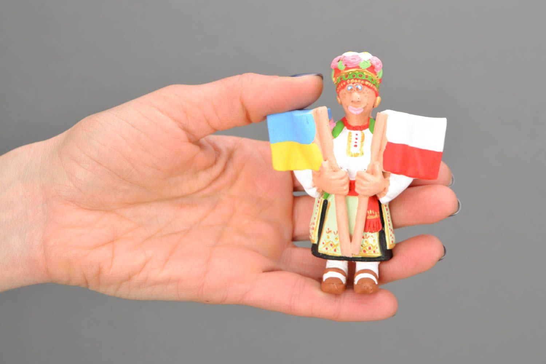Fridge magnet in Ukrainian style photo 2