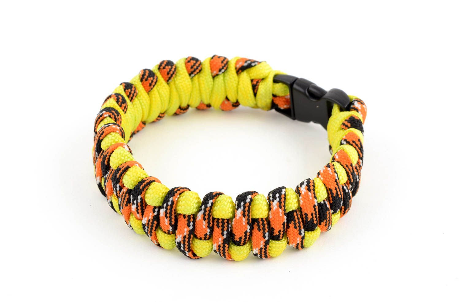 Handmade paracord bracelet parachute cord bracelet hiking equipment cool gifts photo 1
