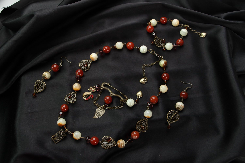 Jewelry set Buckthorn photo 1