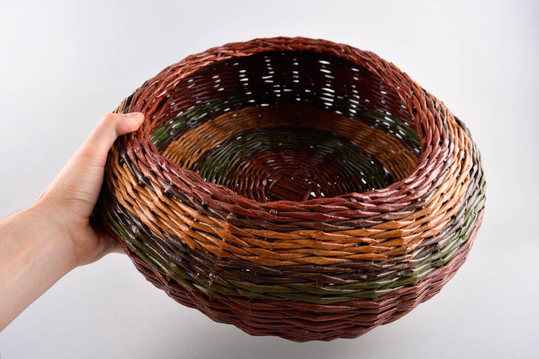 Wicker basket home decor handmade woven basket interior decor ideas home box photo 5