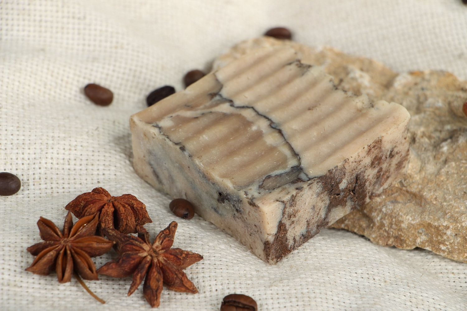 Handmade soap with almond oil photo 5