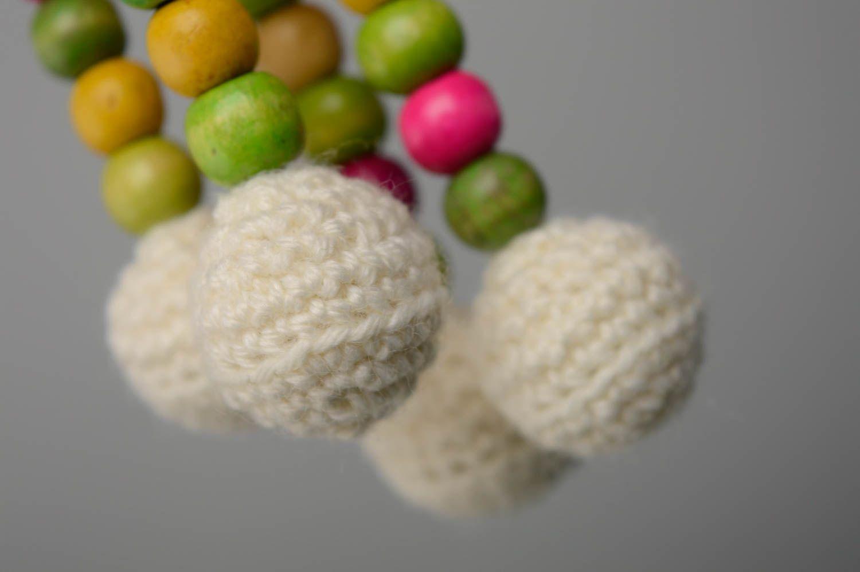 Juguete tejido con forma de oveja foto 4