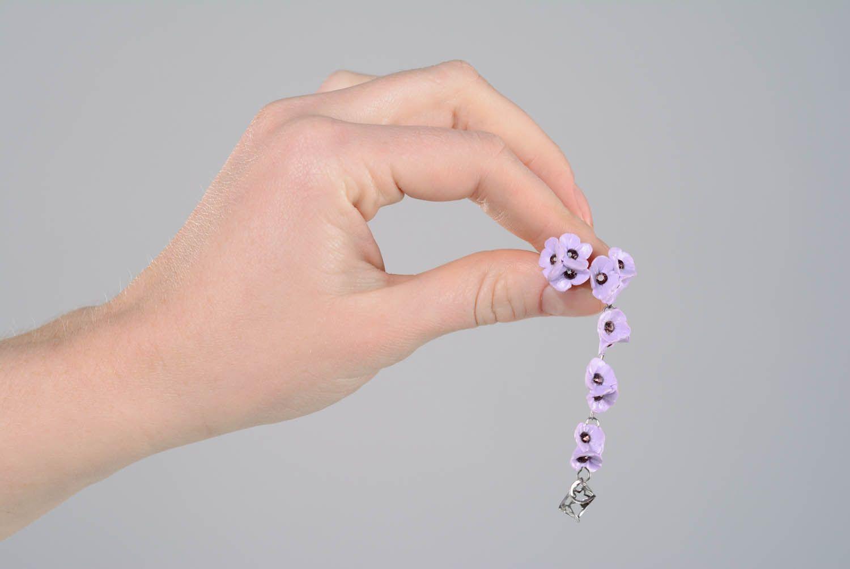 Ohr Cuffs aus Polymer Ton Pastellfärbung foto 4