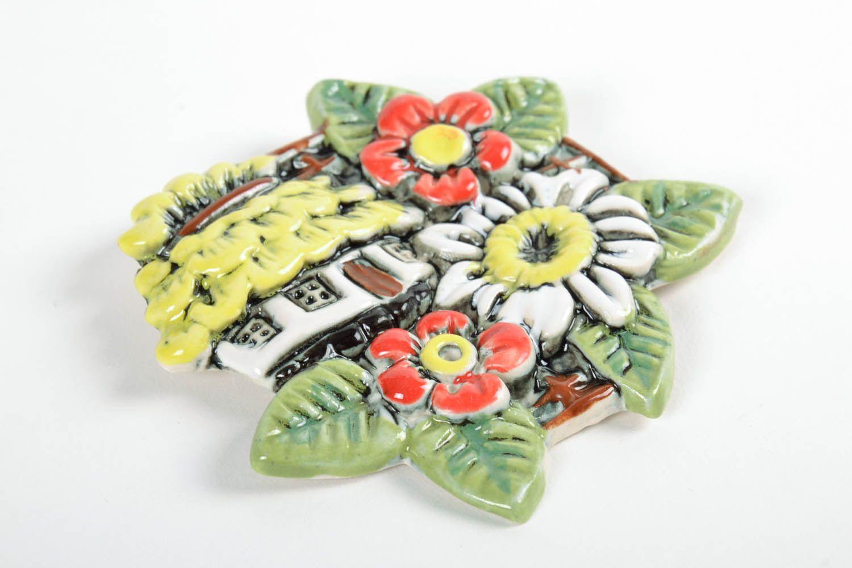 Ceramic fridge magnet photo 3