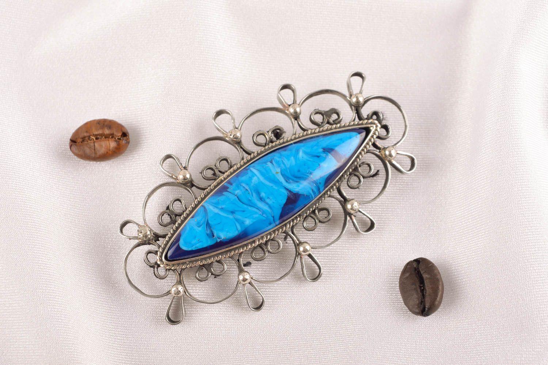 Handmade metal brooch stylish jewelry fashion brooch vintage brooch for women photo 1
