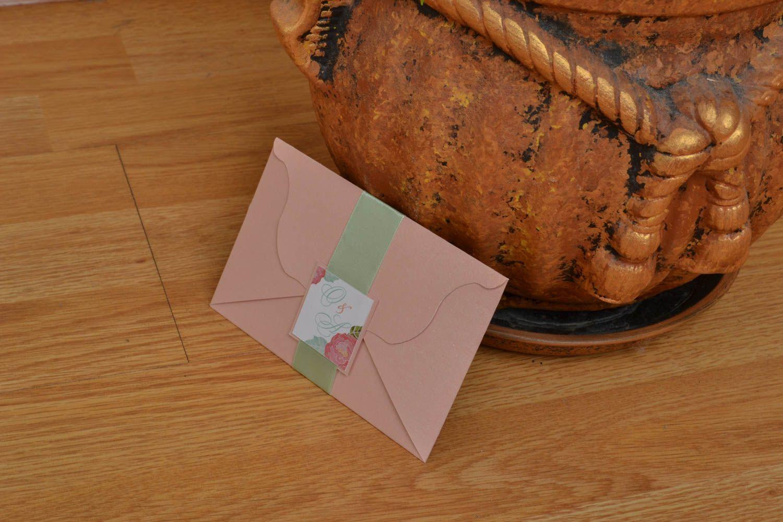 Handmade invitation card photo 5