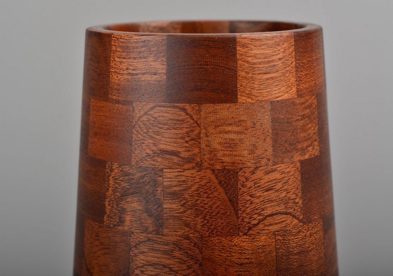 madeheart vase aus holz. Black Bedroom Furniture Sets. Home Design Ideas