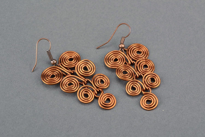 wire wrapped earrings Earrings