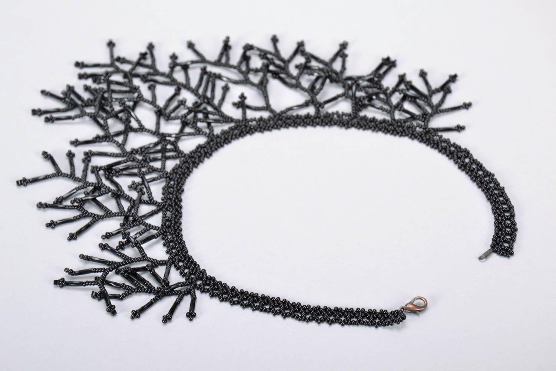 Homemade black necklet photo 3