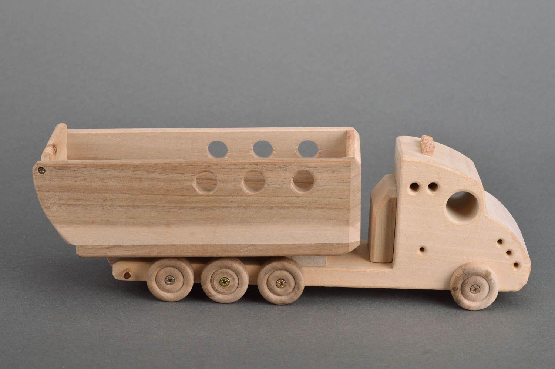 Madeheart juguete de madera ecol gico volquete para - Jugueteros de madera ...