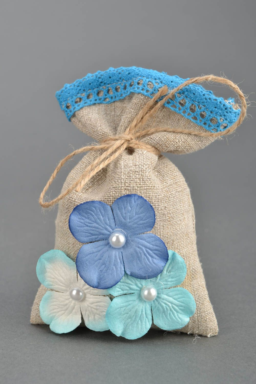 Scented linen bag photo 1